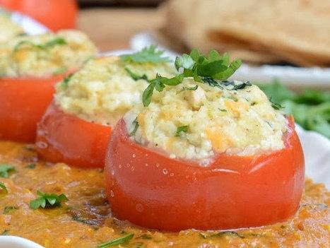 मलाई ग्रेवी के साथ खांए भरवां टमाटर   Lifestyles: Hindi Recipes,Health Tips, Fashion & Beauty, Education, Career   Scoop.it