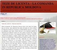 TEZA DE LICENTA, TEZE DE MASTER - LA COMANDA IN RM   TEZE LA COMANDA IN REPUBLICA MOLDOVA   Scoop.it