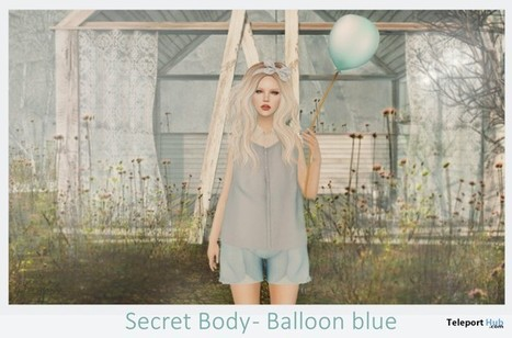 Blue Balloon and Pose by Secret Body | Teleport Hub - Second Life Freebies | Second Life Freebies | Scoop.it