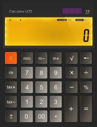KISS iPad Calculator - The built in app that isn't | iGo With My iPad | iPads, MakerEd and More  in Education | Scoop.it