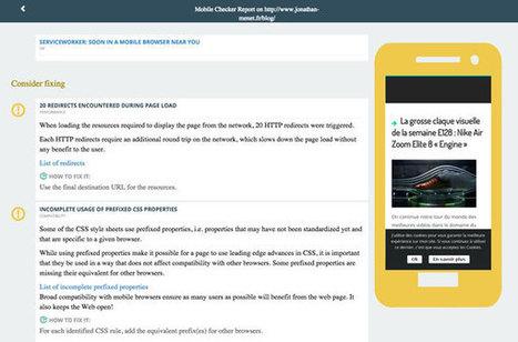 Mobile Checker : un outil de validation «mobile friendly» par le W3C   Marketing   Scoop.it