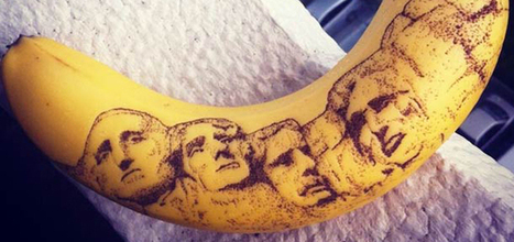 End Cape lance le tatouage sur banane | Geeks | Scoop.it