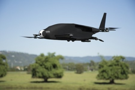 SkyProwler convertible drone, quad or fixed wing, doing well on Kickstarter | Gizmag | Cultibotics | Scoop.it