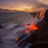 Interesting Photo of the Day: Where Lava Meets the Ocean | Digital-News on Scoop.it today | Scoop.it