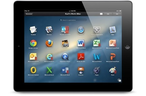 Parallels Access Brings PC And Mac Applications To The iPad   Educational Technology - Yeshiva Edition   Scoop.it
