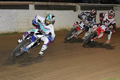 Rainier short track last night. Tough race, the locals have that place dialed. (... | California Flat Track Association (CFTA) | Scoop.it