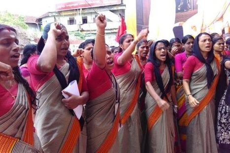 Kerala's textile store employees are struggling for their rights to sit down or take a leak | Occupational and Environment Health | Scoop.it