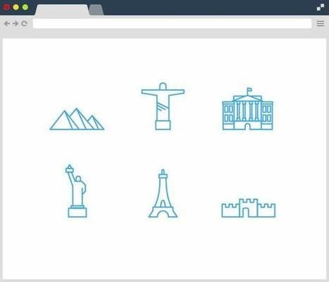 6+ Free Landmarks Icons | Designrazzi | Bazaar | Scoop.it