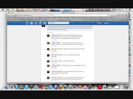 Collaborative Discussions on Edmodo Stibaly Johnson CVESD | TechLib | Scoop.it