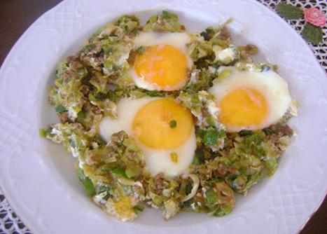 Oktay Usta Yemek Tarifleri: Pırasalı Yumurta Tarifi | Katmer Poğaça Tarifi | Scoop.it