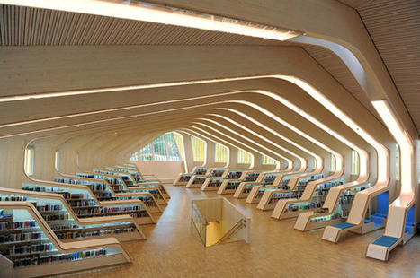 Vennesla library and cultural center par Helen & Hard | Journal du Design | BiblioLivre | Scoop.it