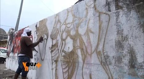 "L'art du grafitti au Gabon | Revue de presse ""Afrique"" 