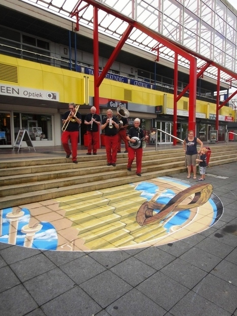 LelystART 3D streetpainting | Machinimania | Scoop.it