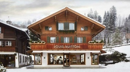 Louis Vuitton Opens 'Ski Resort' Boutique In Gstaad | World tourism | Scoop.it