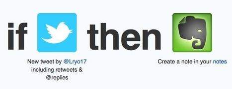 Archivez vos tweets en dehors de Twitter | Le blog des nouvelles technologies : Web, Technologies, Développement, Interopérabilité | Archivance - Miscellanées | Scoop.it