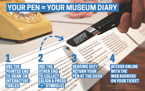 How a Digital Pen is Turning a Museum into a Library | DMLcentral | Education Museums and the Digital world | Scoop.it