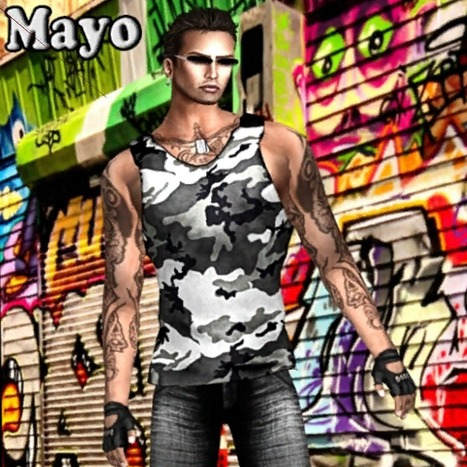 Mayo Male Outfit Group Gift by Ydea | Teleport Hub | My SL Freebie Fashions | Scoop.it