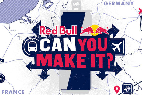 Red Bull Can You Make It : Direction Berlin ! | Red Bull | Marketing Scoopit 1 | Scoop.it