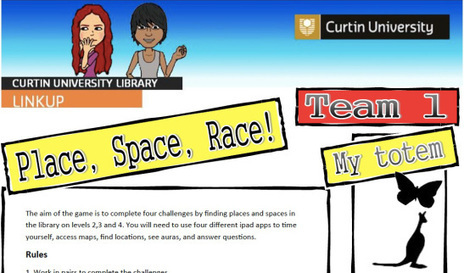 Playing with games in the library (using ipads) | Curtin iPad User Group | Scoop.it