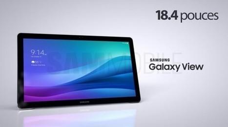 Samsung Galaxy View : la tablette Android 18,4 pouces | Actualité des Tablettes Android™ | Scoop.it