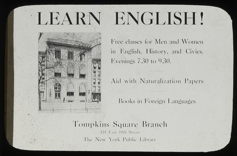 Learn English Using Online Resources | The New York Public Library | PLE (Personal Learning Enviroment) | Scoop.it