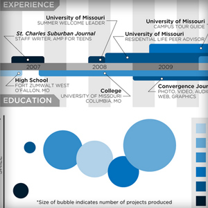 Resume Infographics, A Passing Trend of the Future? | visual data | Scoop.it