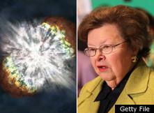 Supernova named in honor of Sen. Barbara Mikulski   Social ...   Hubble Space Telescope   Scoop.it