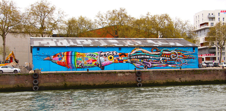 A Rouen, le street art a envahi la ville   LittArt   Scoop.it