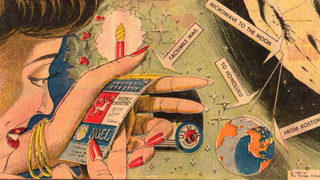 This Was An Electronic Christmas Card In 1960 | Outbreaks of Futurity | Scoop.it