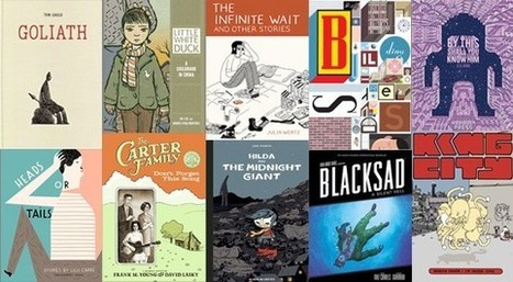 What Were the Best Graphic Novels and Web Comics of 2012? - Slate Magazine   Funny Books   Scoop.it