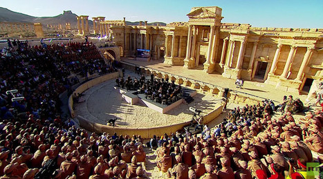 Praying for Palmyra: Russian maestro leads orchestra in ruins of ancient city | Saif al Islam | Scoop.it