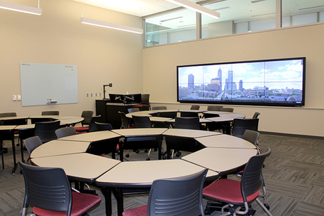 The Future of Collaboration Spaces Encompasses Video, Interactive, Mobile -- Campus Technology | Learning Spaces and the Physical Environment | Scoop.it