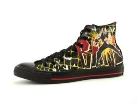 Converse Sneakers to Feature Dark Knight and Bane | All Geeks | Scoop.it
