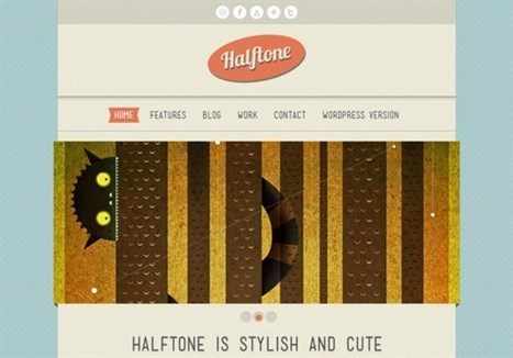 27 Free HTML5 & CSS3 Templates For Download | Template & Webdesign | Scoop.it
