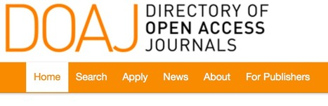 Directory of Open Access Journals | Learning Technology News | Scoop.it