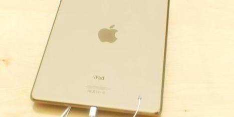 Photos de l'iPad 5 Champagne avec le Touch ID - Infos | Apple | Scoop.it