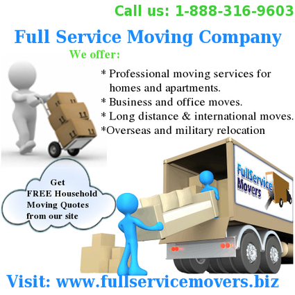 Finding A Full Service Moving Company | fullservicemovers | Scoop.it