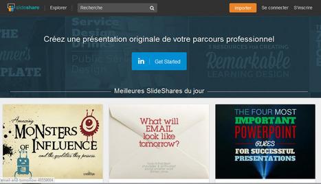 19 services gratuits pour créer une présentation en ligne | Céline F | Scoop.it