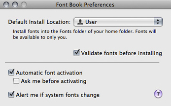 Font Management in OS X   CheckThisOut   Scoop.it