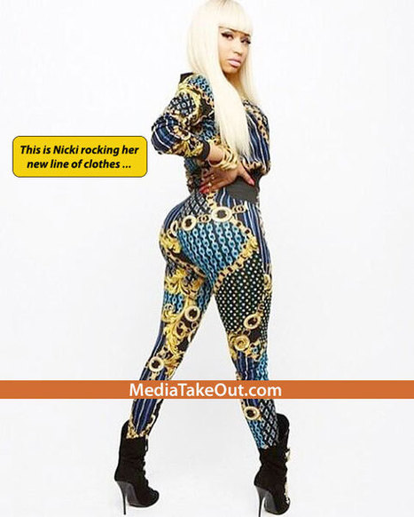 Nicki Minaj RELEASES A PIC . . .Of Her Wearing Her NEW LINE OF CLOTHES . .. And UMMM . . . See For Yourself!! - MediaTakeOut.com™ 2013 | GetAtMe | Scoop.it