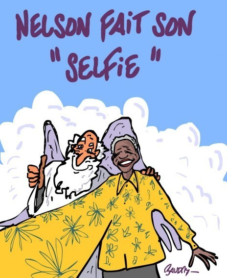 Nelson fait son selfie | Baie d'humour | Scoop.it