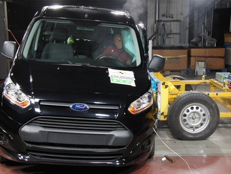 Ford Tourneo Connect ottiene 5 stelle EuroNCAP - Megamodo | Ford Roma | Scoop.it