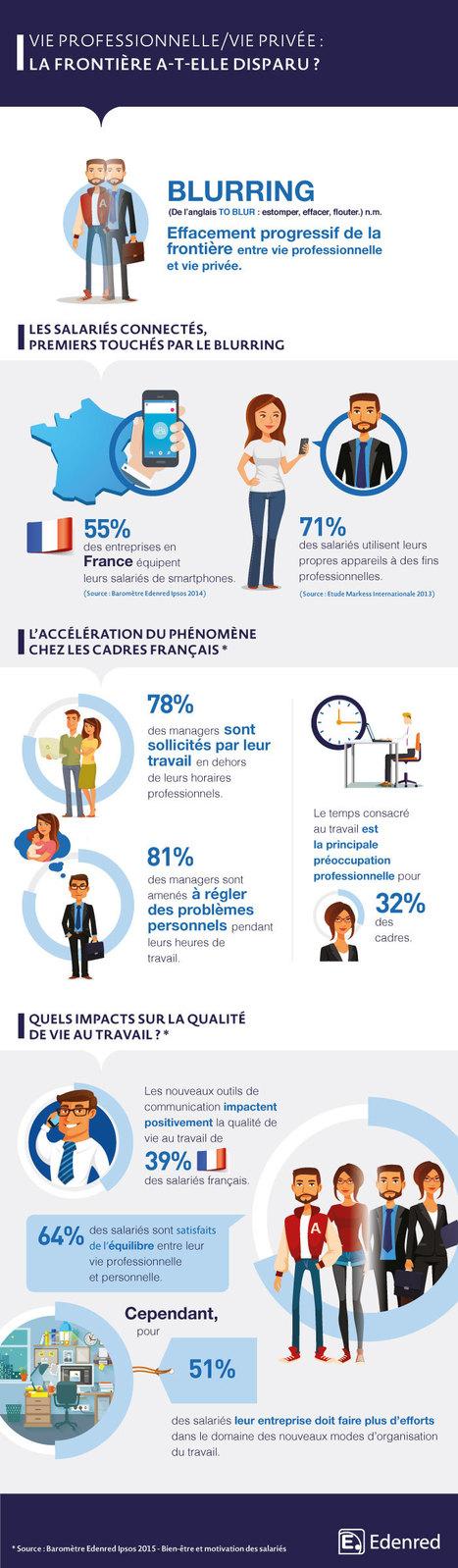 Le blurring : une réalité pour les cadres français | Recrutement et RH 2.0 l'Information | Scoop.it