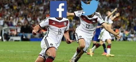 Facebook et Twitter sont les vrais vainqueurs de la Coupe du Monde | We are social | Scoop.it