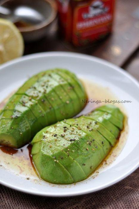 Avocado w/ Black Pep   cooking   Scoop.it