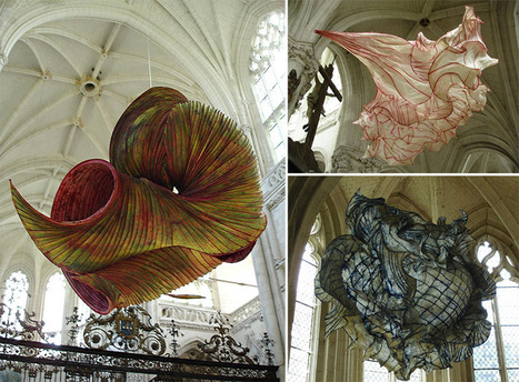 Delicate Paper Sculptures Suspended in Mid-Air by Peter Gentenaar | READ | WATCH | LISTEN | Scoop.it