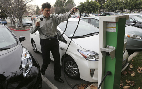 Too many electric cars, not enough workplace chargers creating tension on Silicon Valley tech campuses | Sustain Our Earth | Scoop.it