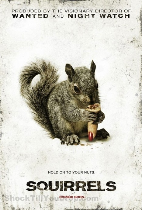 Killer Squirrels Movie: Actually Coming Soon! - The Hollywood Gossip | The Real Squirrels of McDaniel College | Scoop.it