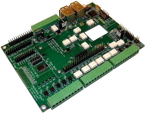 MotherBone™PiOne™ is a peripheral motherboard for BeagleBone Black & Raspberry Pi providing safe I/O expansion for Linux control systems   Raspberry Pi   Scoop.it
