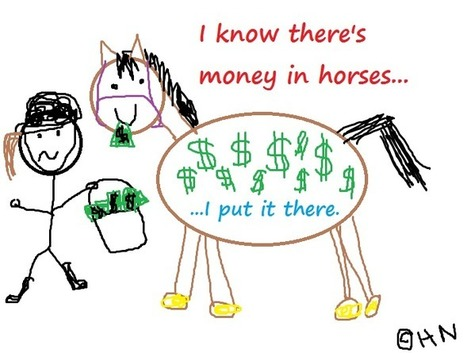 I know there's money in horses | Equestrian Humor | Scoop.it